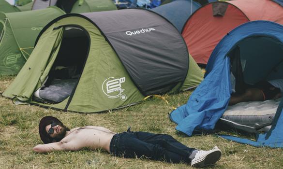 Camping Azkena Rock Festival Spain