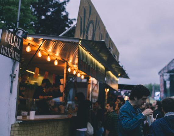 azkena rock festival comida y bebida foodtruck