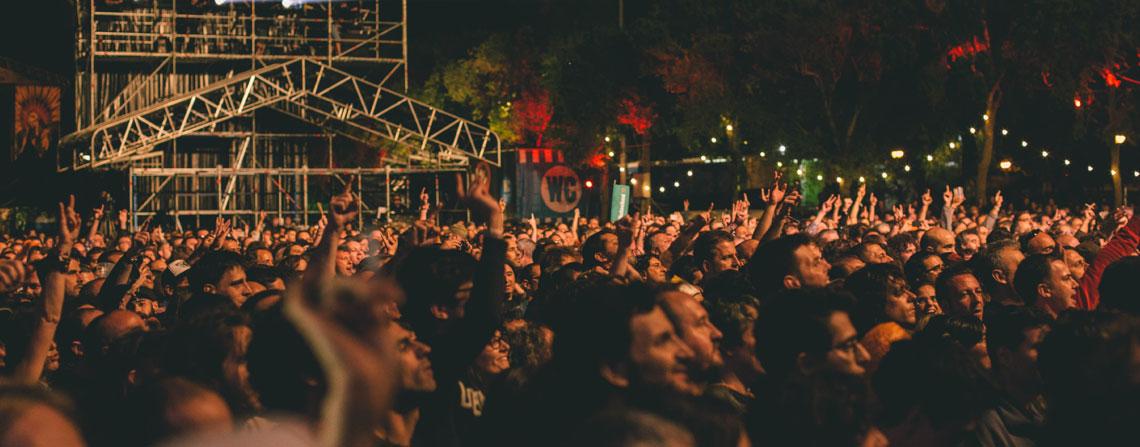 Azkena Rock Festival Público Concierto