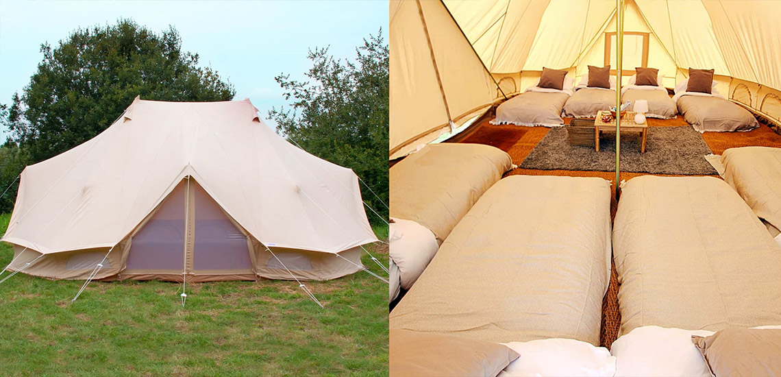 Emperor Tent Glamping