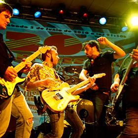 Azkena Rock Festival Music Música Spain España Sol Lagarto