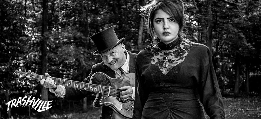 Azkena Rock Festival Music Música Spain España Trashville Reverend Beat-Man feat. Sister Nicole Izobel Garcia