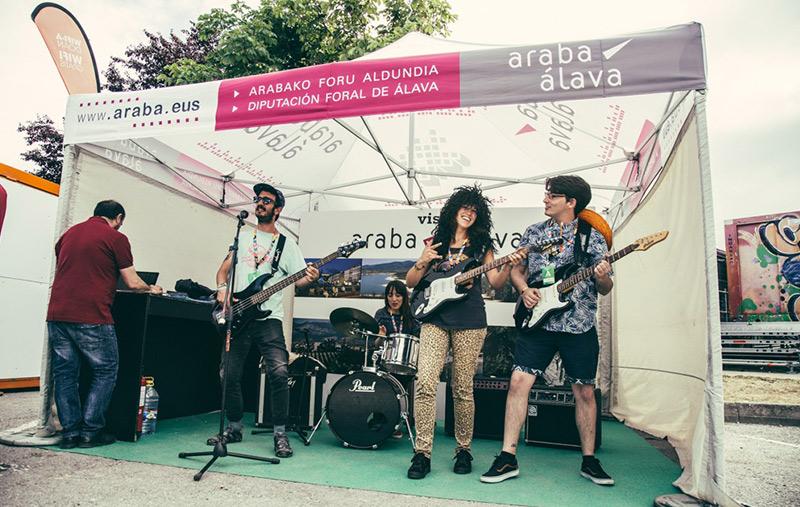 Álava Turismo patrocinador principal de Azkena Rock 2018
