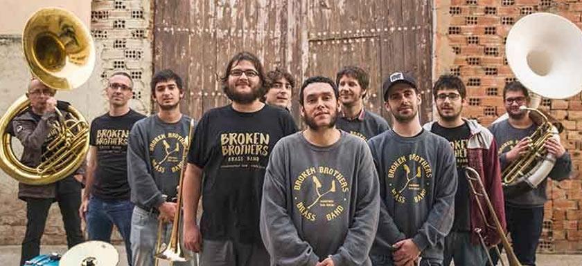 Broken Brothers Brass Band en el Azkena Roc Festival 2018